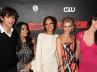 Ashton Kutcher et sa sublime Demi Moore entourent Mischa Barton et les top models de The Beautiful Life... Une soirée glamourissime !