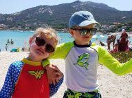 Charlene de Monaco : Jacques et Gabriella, lookés à la plage, profitent