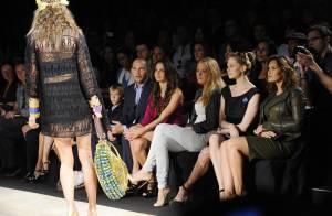 Mariska Hargitay et Blake Lively en fans de mode jouent les bonnes élèves... pour la jolie Coco Rocha !
