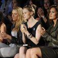 Blake Lively et Mariska Hargitay au défilé Diane Von Furstenberg à New York le 14/09/09