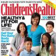 Michelle Obama en couverture de Children's Health