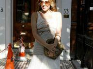 Kylie Minogue et sa robe transparente : Mais n'te promène donc pas toute nue !