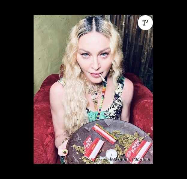 Madonna sur Instagram. Le 17 août 2020.