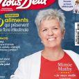 """Mimie Mathy en couverture du magazine """"Nous Deux"""", paru le 18 août 2020"""