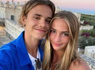 Romeo Beckham : Câlin musclé avec sa chérie Mia Regan