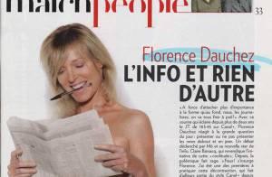 Florence Dauchez : sa photo topless dérange... mais la journaliste assume !