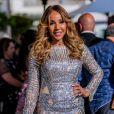 Cathy Guetta sur la croisette lors du 72ème Festival International du Film de Cannes, le 23 mai 2019.