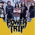 Le groupe Power Trip, tête d'affiche du festival Kultursommer. Le 12 juin 2019.