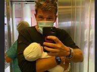 Benjamin Castaldi : Tendre photo d'Aurore et leur fils et retour à la maison !