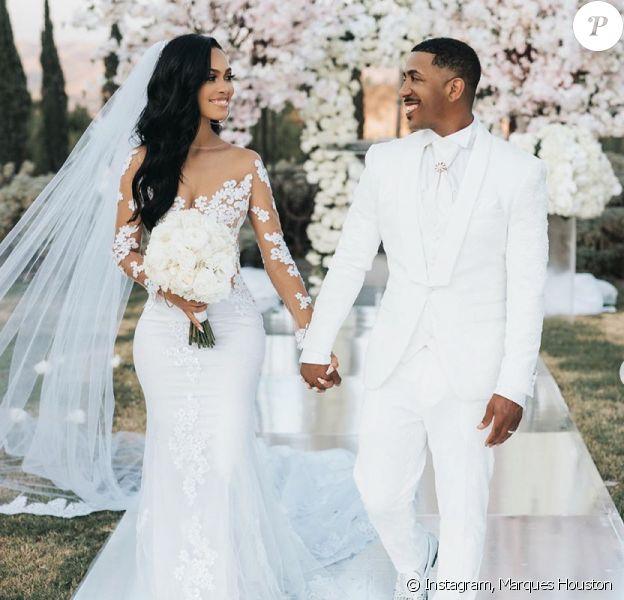 Marques Houston et Miya Dickey se sont mariés à Los Angeles le 24 août 2020.