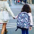 Mélissa Theuriau avec sa fille Lila pour sa rentrée scolaire, sur Instagram le 1er septembre 2020.