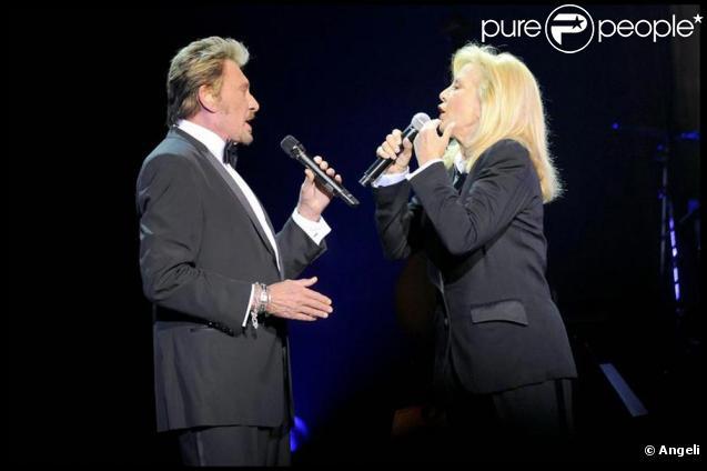 Johnny et Sylvie en duo à l'Olympia samedi 19 septembre.