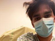 Alain-Fabien Delon : Hospitalisé pour un pneumothorax, effrayé, il se confie