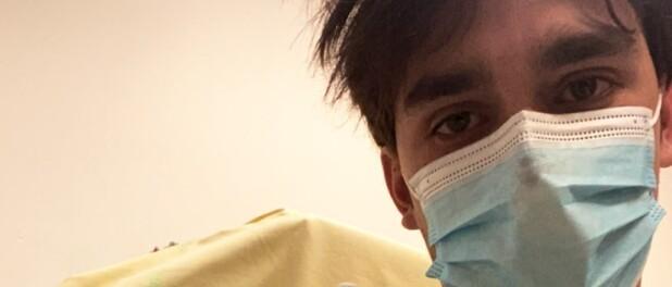 Hospitalisé pour un pneumothorax, effrayé, il se confie