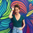 """Solène Hébert, l'actrice de """"Demain nous appartient"""" sur Instagram. Mai 2018."""
