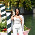 La compagne de Cristiano Ronaldo, Georgina Rodriguez, arrive à la 77ème édition du Festival international du film de Venise, la Mostra. Le 3 septembre 2020.