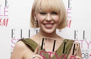 Kylie Minogue : Femme de l'année aux ELLE Style Awards 2008