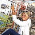 """Exclusif - Caroline Margeridon - Inauguration de la Fête à Neuneu au profit de l'association """"Innocence En Danger"""" au Bois de Boulogne à Paris, France le 4 septembre 2020. © Cédric Perrin/Bestimage"""