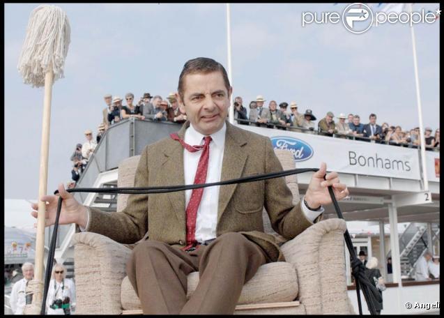 Mr Bean est de retour pour fêter le 50e anniversaire de la Mini.