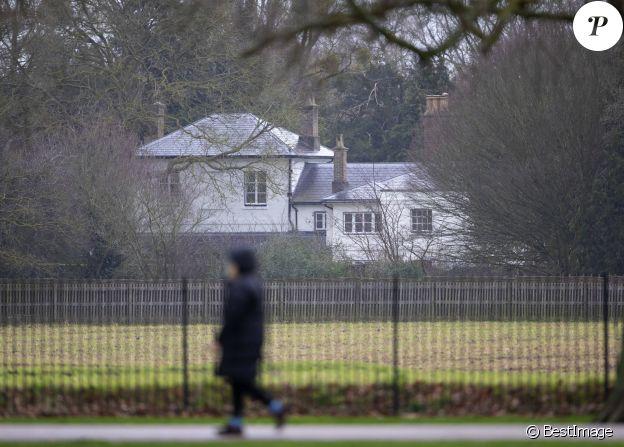 Le Frogmore Cottage du prince Harry et Meghan Marke vide, en janvier 2020.