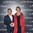 Fabien Leoeuvre et Anne Richard lors de la première du Petit Nicolas le 20 septembre 2009 à Paris