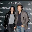 Géraldine Pailhas et Christopher Thompson lors de la première du Petit Nicolas le 20 septembre 2009 à Paris