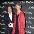 Fabien Lecoeuvre et Anne Richard lors de la première du Petit Nicolas le 20 septembre 2009 à Paris