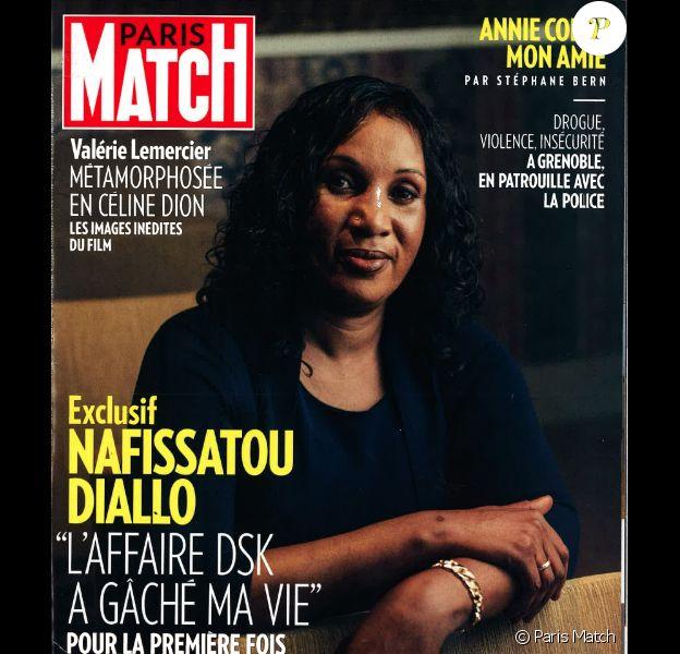 Une de Paris-Match. Interview exclusive de Nafissatou Diallo.
