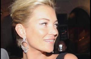 Kate Moss : Superbe de jour comme de nuit... Eva Herzigova est battue ! Elles ont fait la fête avec leurs amoureux ! (Réactualisé)