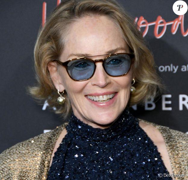"""Sharon Stone - Les célébrités assistent à l'inauguration de l'exposition """"Vanity Fair Hollywood Calling"""" à la galerie """"Annenberg Space For Photography"""" à Los Angeles."""