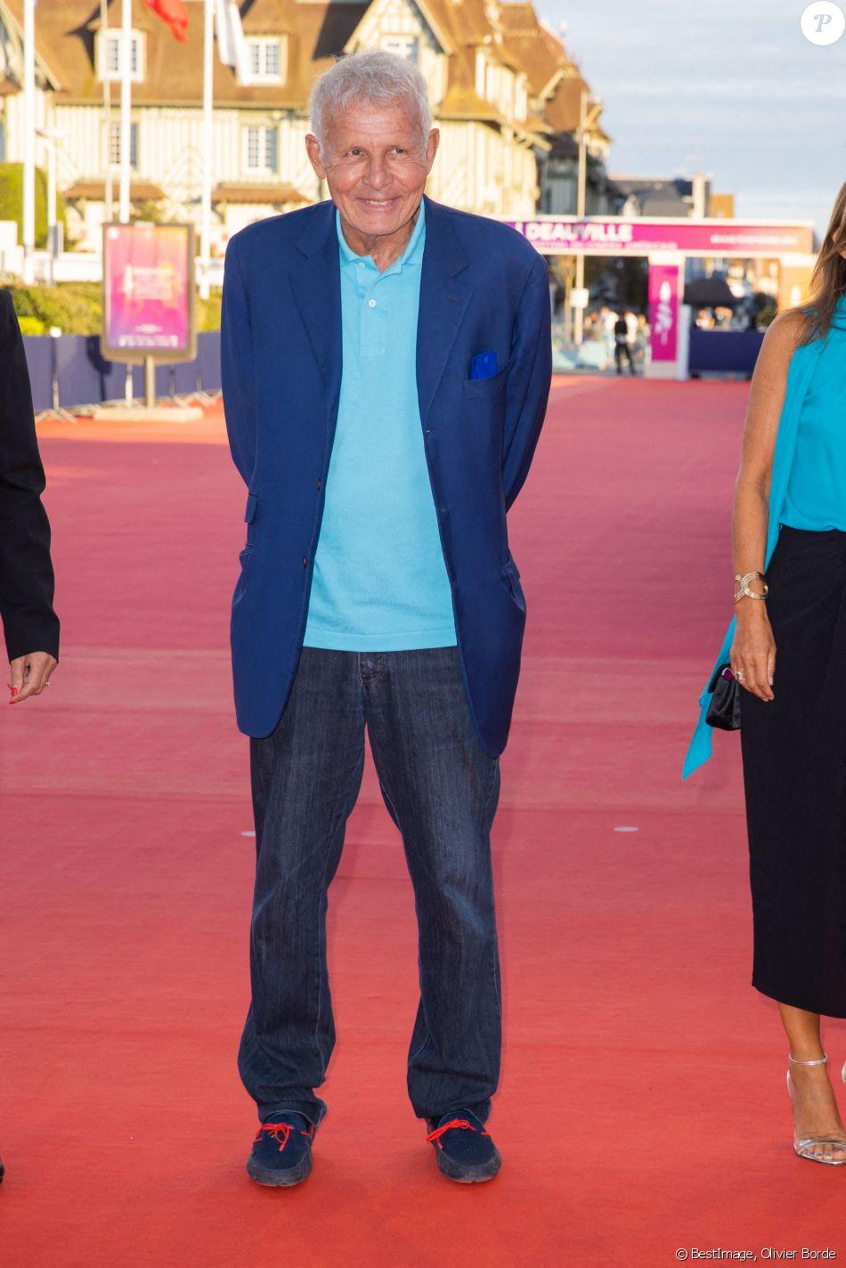 Patrick Poivre d'Arvor (PPDA) - Première du film Resistance lors du 46ème Festival du Cinéma ...