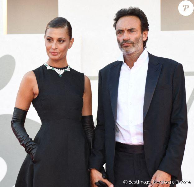Anthony Delon et sa compagne Sveva Alviti lors de la cérémonie d'ouverture de la 77ème édition du festival international du film de Venise (Mostra) 2020. © Piergiorgio Pirrone / LaPresse / Bestimage
