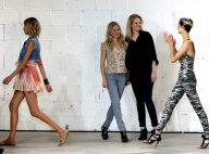 Quand Sienna Miller et sa soeur Savannah présentent leur dernière collection à la Fashion Week... la papesse de la mode, se déplace !