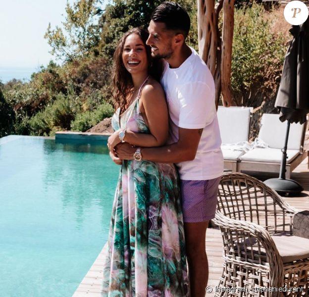 Stéphanie Durant et Théo en Corse