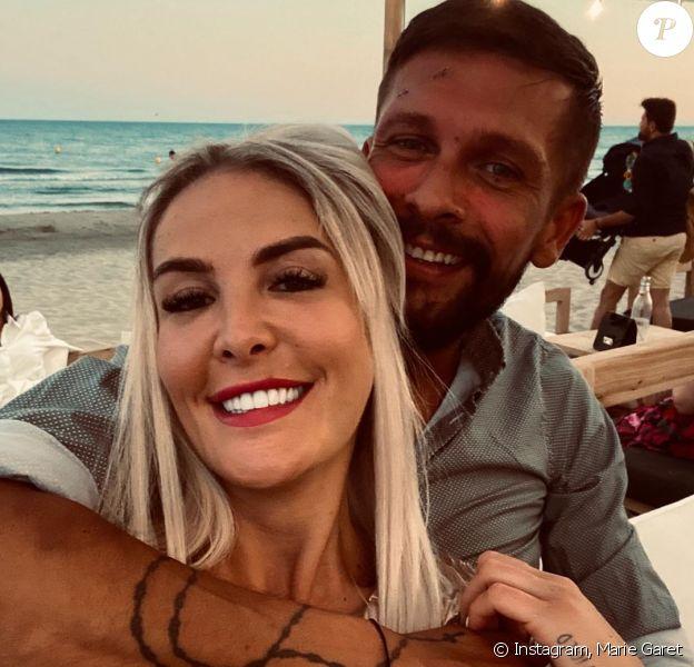 Marie Garet et son compagnon sur Instagram.