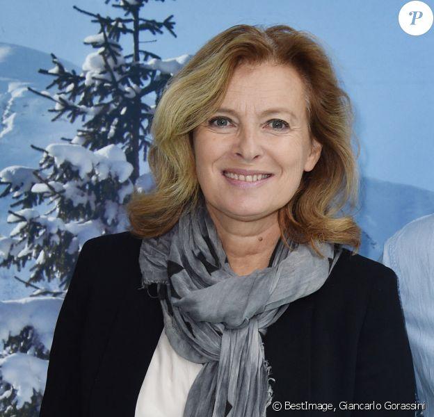 Valérie Trierweiler - Déjeuner pour le lancement de la campagne des Pères Noël Vert au siège du Secours Populaire à Paris. © Giancarlo Gorassini/Bestimage