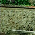La tombe de Romy Schneider à  Boissy-sans-Avoir dans les Yvelines, en 1992.