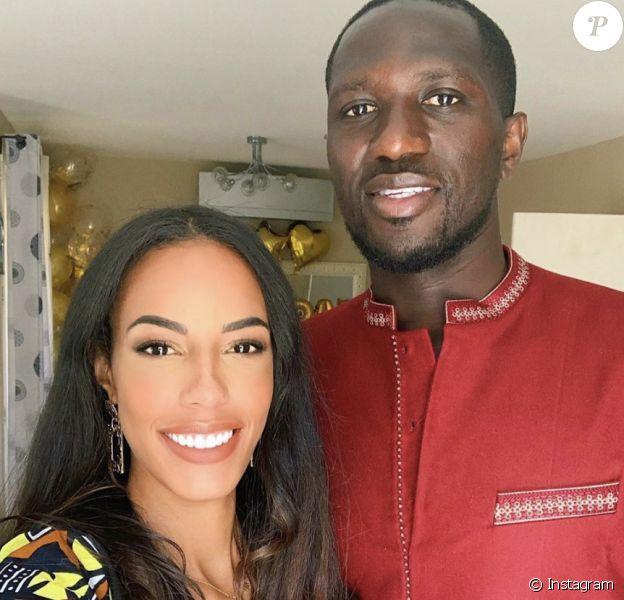"Marylou, ex-candidate de ""Koh-Lanta Malaisie"" et son amoureux le footballeur Moussa Sissoko."