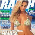 Monica Hansen très sexy en couverture de magazines...