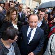 François Hollande et Valerie Trierweiler ont accueilli au palais de l'Elysée leurs concitoyens pour la journée du patrimoine, le 14 septembre 2013.
