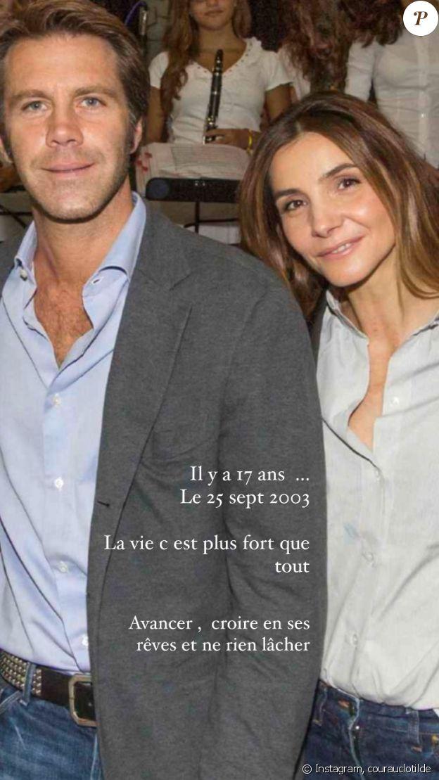 Clotilde Courau célèbre ses 17 ans de mariage avec le prince Emmanuel-Philibert de Savoie sur Instagram, le 25 septembre 2020.