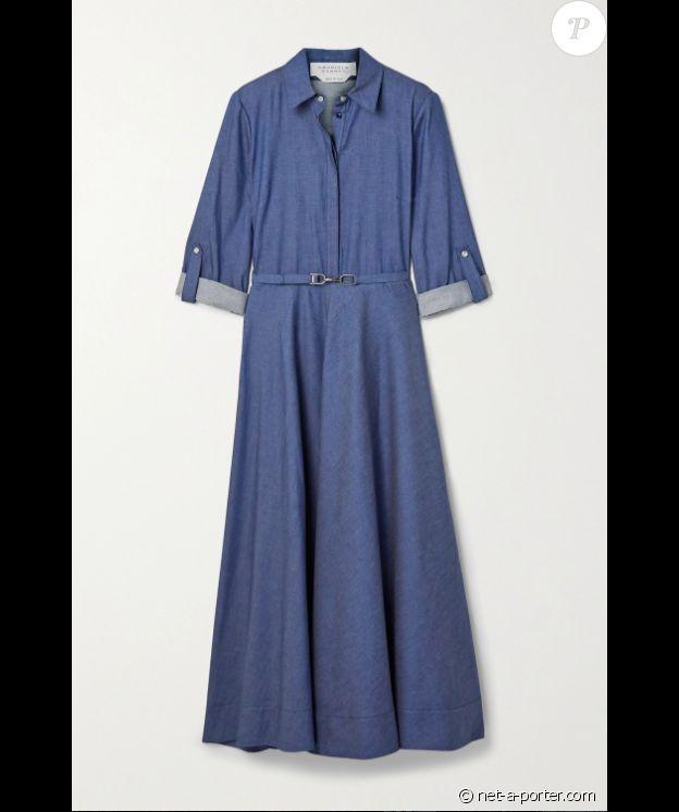 La robe Gabriela Hearst de Kate Middleton, dévoilée le 26 septembre 2020 sur Instagram. En vente sur Net-a-porter, au prix de 1390 euros.