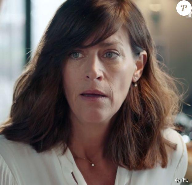 """Anne Caillon joue Flore Vallorta dans la série """"Demain nous appartient"""", diffusée sur TF1."""