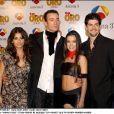 Monica Cruz, Pablo Puyol, Beatriz Luengo et Miguel Angel aux TV Golden Awards à Madrid.