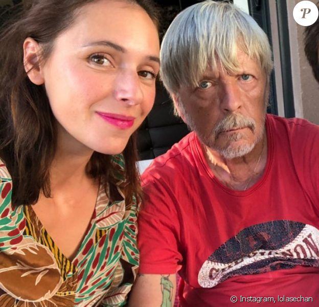 Lolita Séchan et son ex-compagnon Renan Luce célèbrent le 8e anniversaire de leur fille Héloïse avec Renaud - Instagram.