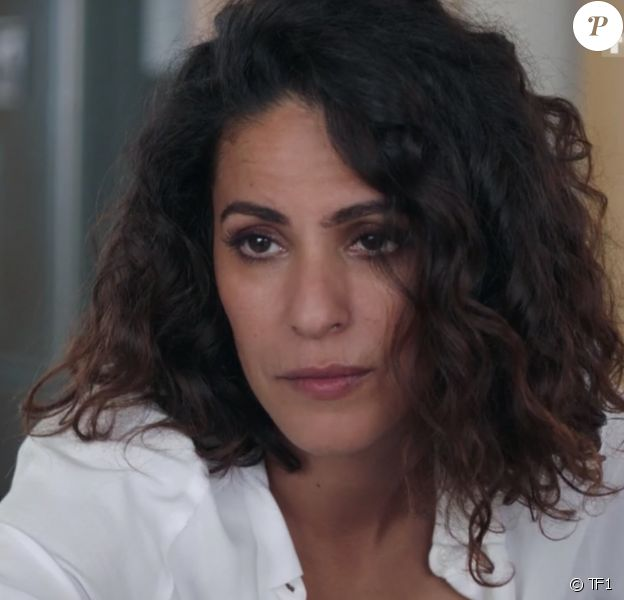 """Samira Lachhab dans la série """"Demain nous appartient"""", diffusée sur TF1."""