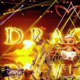"""Le Dragon dans """"Mask Singer 2020"""", le 24 octobre 2020, sur TF1"""