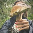 Laure Manaudou partage les cèpes de Jérémy Frérot le 16 octobre 2020 sur Instagram.