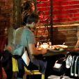 Exclusif - Rumer Willis et Nick Viall dînent en tête à tête à Los Angeles, le 30 septembre 2020.