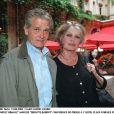 Bernard d'Ormale et Brigitte Bardot- Conférence de presse à l'hôtel Plaza.